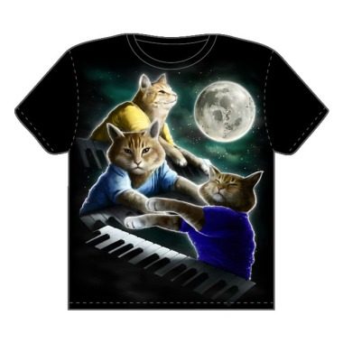 keyboard cat tshirt
